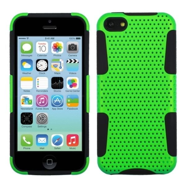 INSTEN Green/ Black Astronoot Phone Case Cover for Apple iPhone 5C