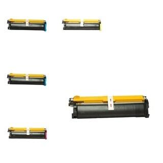 Insten Premium 2BCMY Color Toner Cartridge 1710517-005/ 1710517-006/ 1710517-007/ 1710517-008 for MagiColor 2300/ 2350