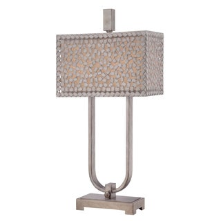 Quoizel 'Confetti' Two-light Table Lamp