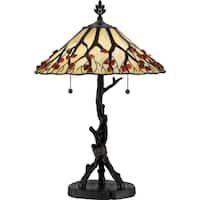 Quoizel Whispering Wood Table Lamp