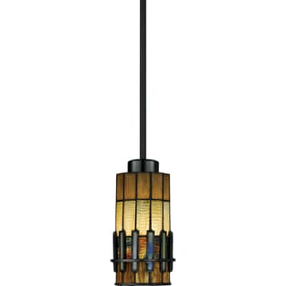 Quoizel Autumn Ridge 1-light Vintage Bronze Mini Pendant