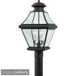 Quoizel Rutledge 3-light Outdoor Post Lantern