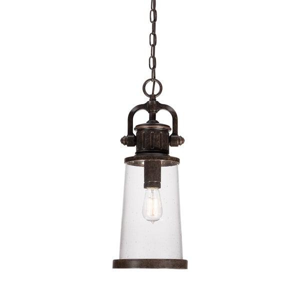 Quoizel Steadman 1-light Imperial Bronze Outdoor Hanging Lantern