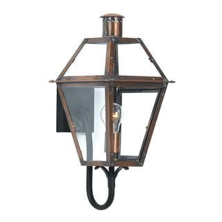 Quoizel Rue De Royal 1-light Aged Copper Outdoor Wall Sconce