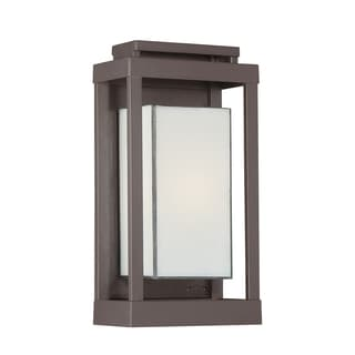 Powell 1-light Western Bronze Outdoor Wall Sconce