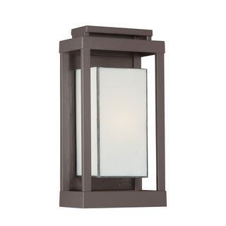 Oliver & James Moigniez 1-light Bronze Outdoor Wall Sconce