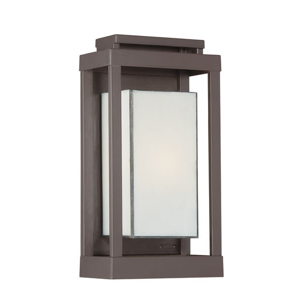 Quoizel Powell 1-light Western Bronze Outdoor Wall Sconce - Free ...