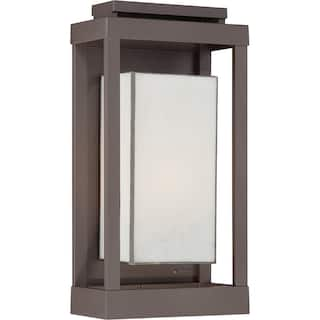 Quoizel outdoor lighting for less overstock quoizel powell 1 light western bronze outdoor wall lantern workwithnaturefo