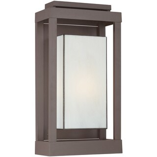 Quoizel Powell 1-light Western-bronze Aluminum Outdoor Wall Lantern