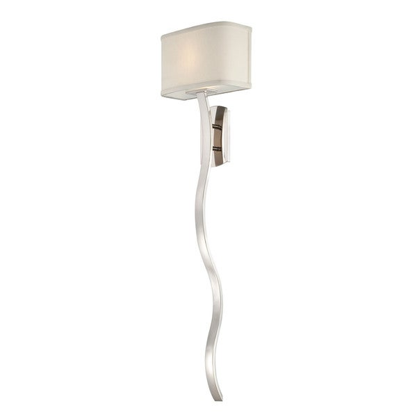 Quoizel Uptown Holita 1-light Imperial Silver Wall Sconce