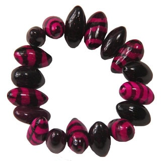 Pink Tiger Stretch Bracelet (Colombia)