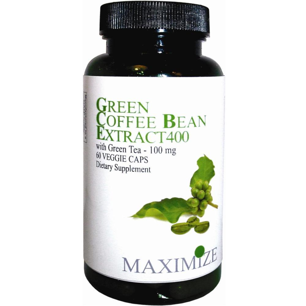 Shop Maximize Green Coffee Bean Extract 400 Dietary Supplement 60 Veggie Caps Free Shipping On Orders Over 45
