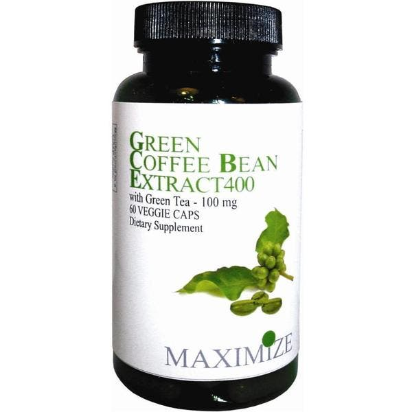 Shop Maximize Green Coffee Bean Extract 400 Dietary Supplement 60
