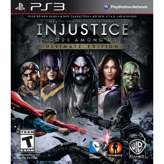 PS3 - Injustice Ultimate Edition