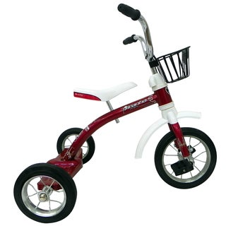 Piranha 10-inch Classic Red Spoke Trike