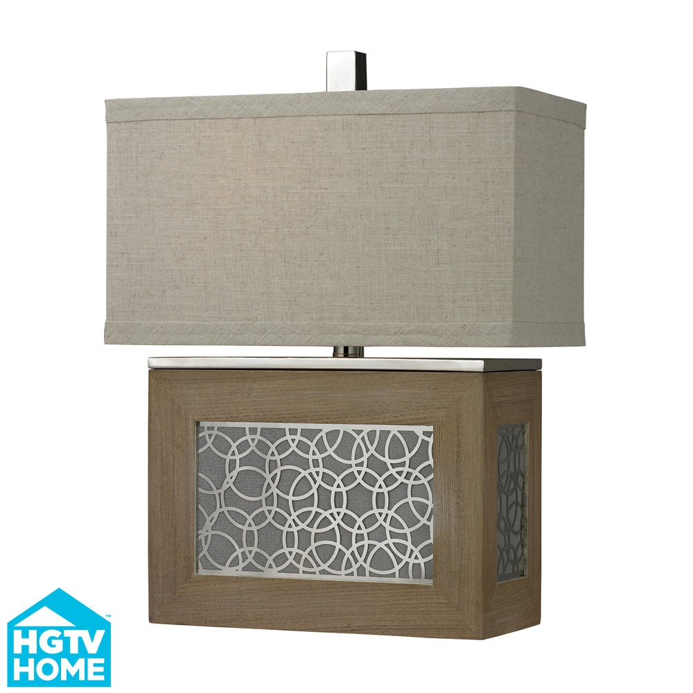 Dimond Lighting Hgtv Home Laser Cut Metal Panel/ Wood Tab...