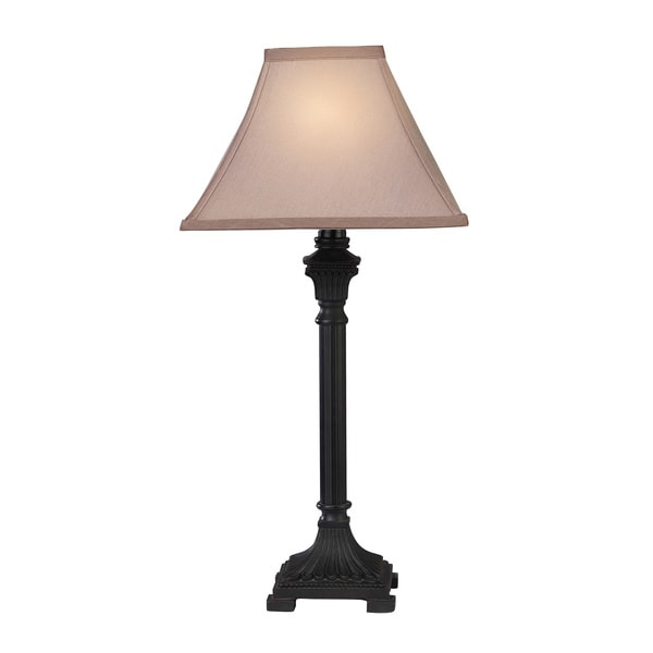 2-Light Bronze Table Lamps (Set of 2)