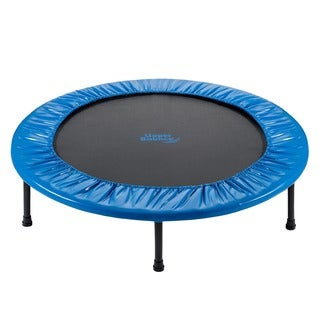 Upper Bounce 36-inch Mini 2 Fold Rebounder Trampoline with Carry-on Bag