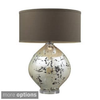 Limerick 1-light Turrit Gloss Beige Table Lamp
