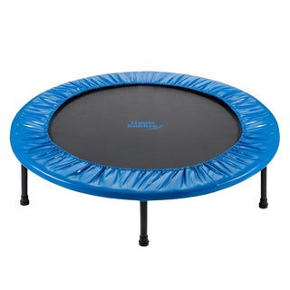Upper Bounce 40-inch Mini 2 Fold Rebounder Trampoline with Carry-on Bag