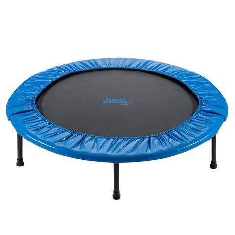 Upper Bounce 44-inch Mini Foldable Rebounder Fitness Trampoline