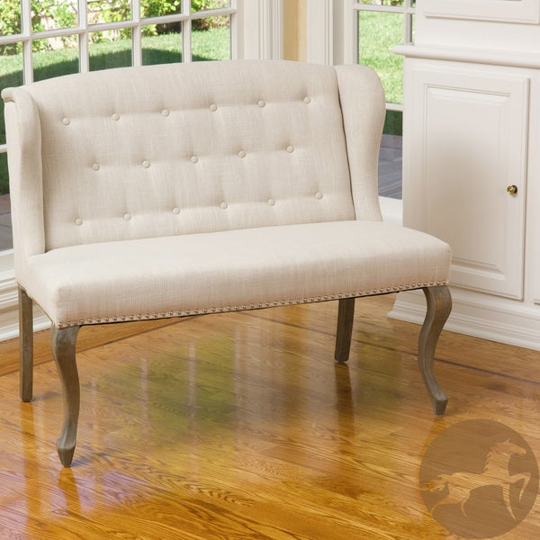 Adrianna Fabric Loveseat by Christopher Knight Home