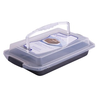 Entenmann's Classic Bakeware Series Baking Pan with Cover