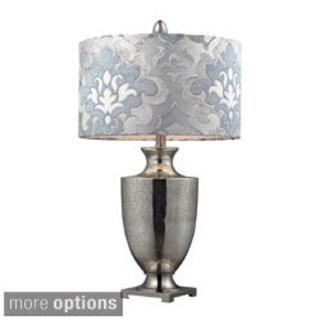 Langham 1-light Chrome Mercury Glass Table Lamp