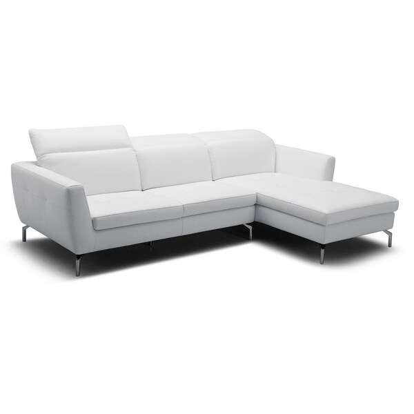 Sectional Sofa Grey Baxton Studio: Shop Baxton Studio Geddis Pale Gray Leather Modern