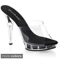 Pleaser Women's 'Lip-101' 5-inch Stiletto Heel