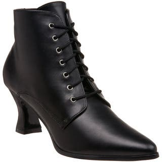 Funtasma Women's 'Victorian-35' Lace-up Victorian Ankle Boots (Option: 6)|https://ak1.ostkcdn.com/images/products/8466319/P15757513.jpg?impolicy=medium