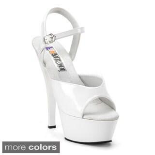 Funtasma Women's 'Juliet-209' 6-inch Spike Heel Platform Sandal