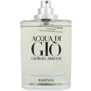 Armani Acqua Di Gio Essenza Men's 2.5-ounce Eau de Parfum Spray (Tester)