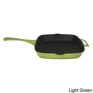 Le Cuistot Vieille France Enameled Cast-Iron 10.2-inch Grill