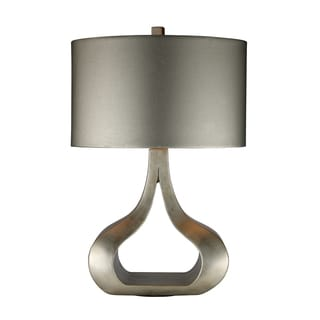 Carolina 1-light Silver Leaf Table Lamp