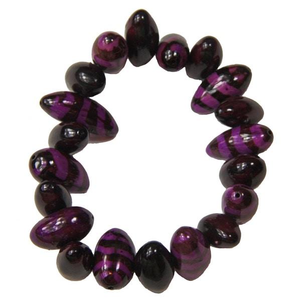Purple Tiger Bracelet (Colombia)