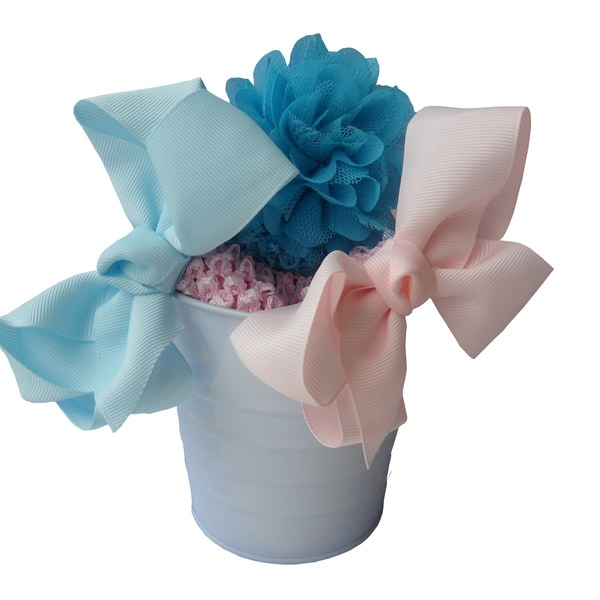Boutique Headband Bow and Flower Hair Accessory Gift Set (Set of 5)