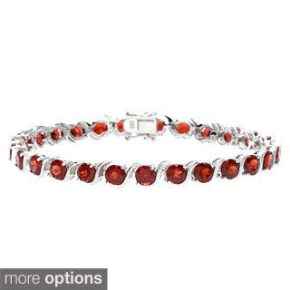 Sofia Sterling Silver and Gemstone Bracelet (2 options available)