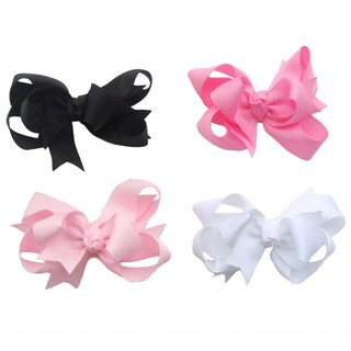 Boutique Layered Bow (Option: Black)