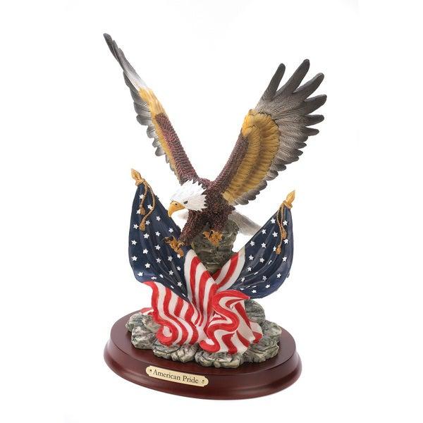 Patriotic Eagle Statue