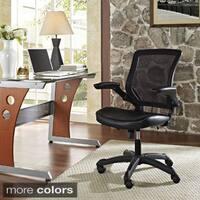 Clay Alder Home Williamsburg Veer Mesh Back / Vinyl Seat Office Chair