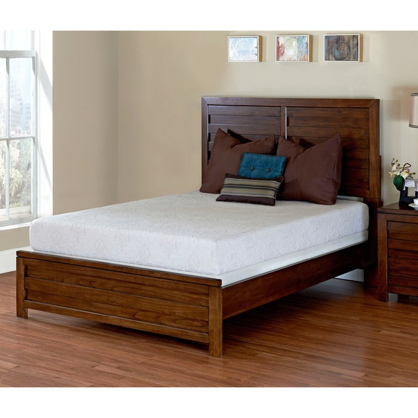 shop purelife mckinley 8 inch twin size memory foam mattress free shipping today overstock. Black Bedroom Furniture Sets. Home Design Ideas