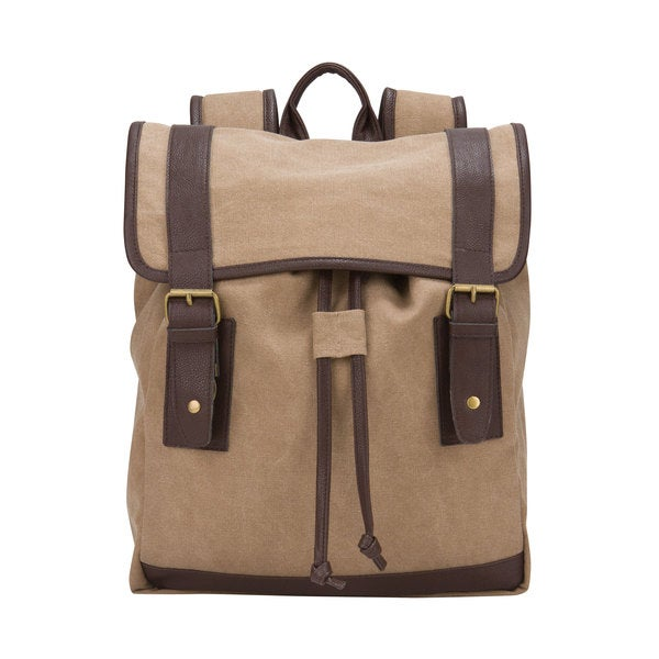 American Casual Collection Canvas 15.4-inch Laptop Computer/ Tablet Backpack