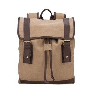 American Casual Canvas 15.4-inch Laptop Computer/ Tablet Backpack