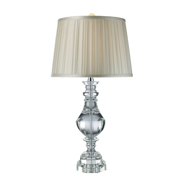 Donaldson Clear Crystal Table Lamp
