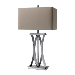 Joline 1-light Chrome Table Lamp