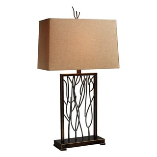 Belvior Park 1-light Aria Bronze Table Lamp