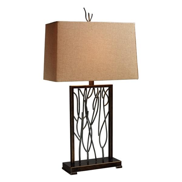 Belvior Park 1-light Aria Bronze Table Lamp