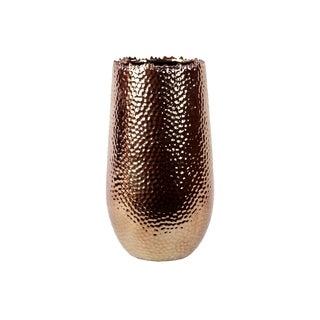 Copper Ceramic Vase