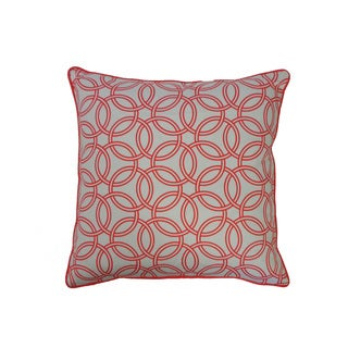 20 x 20-inch Coral Crusade Throw Pillow